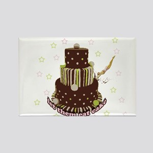 Let Them Eat Cake (no milk) Rectangle Magnet